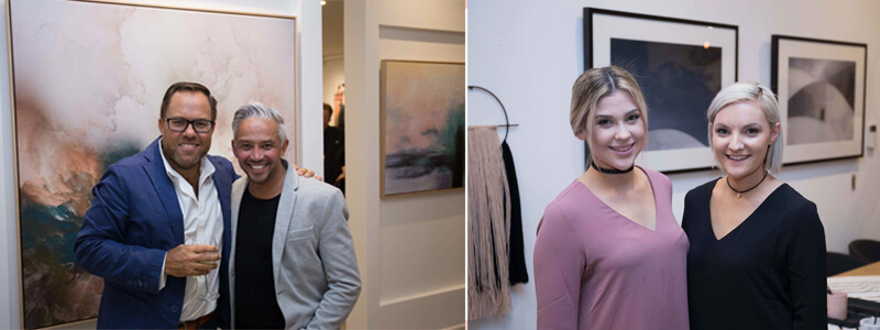united interiors showroom launch richard misso the stylesmiths design addicts brooke castel stylist kerry-ann stylist