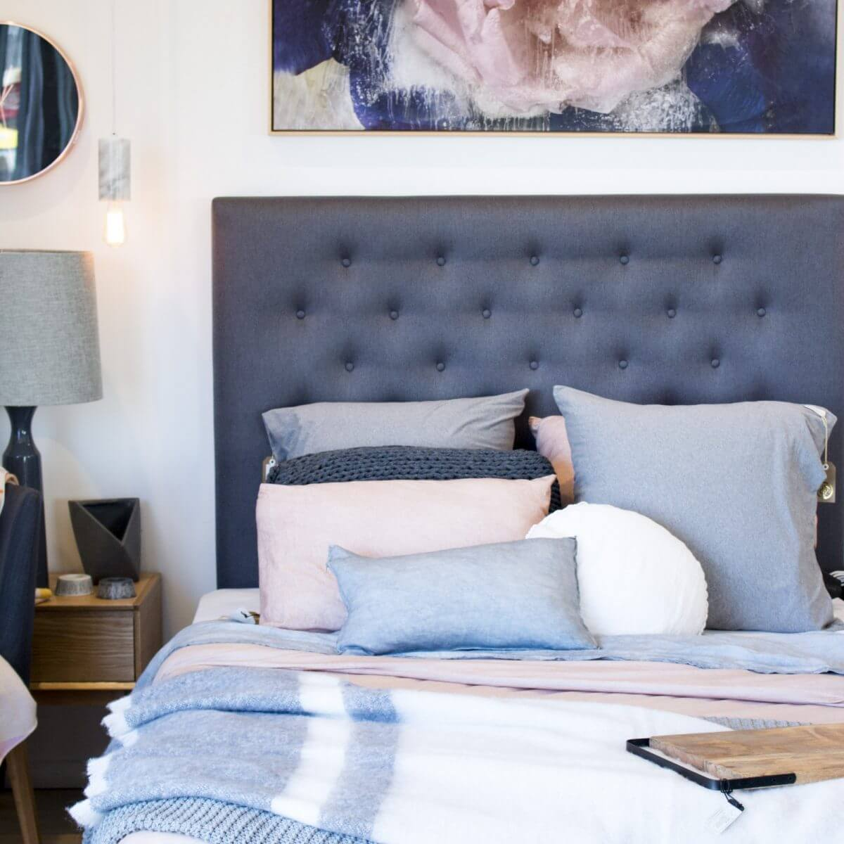 united interiors showroom bed