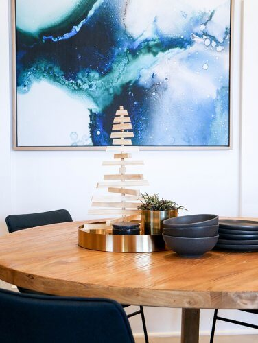 dot and pop christmas decorating table setting styling united interiors artwork prints